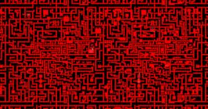 Hell-maze-map